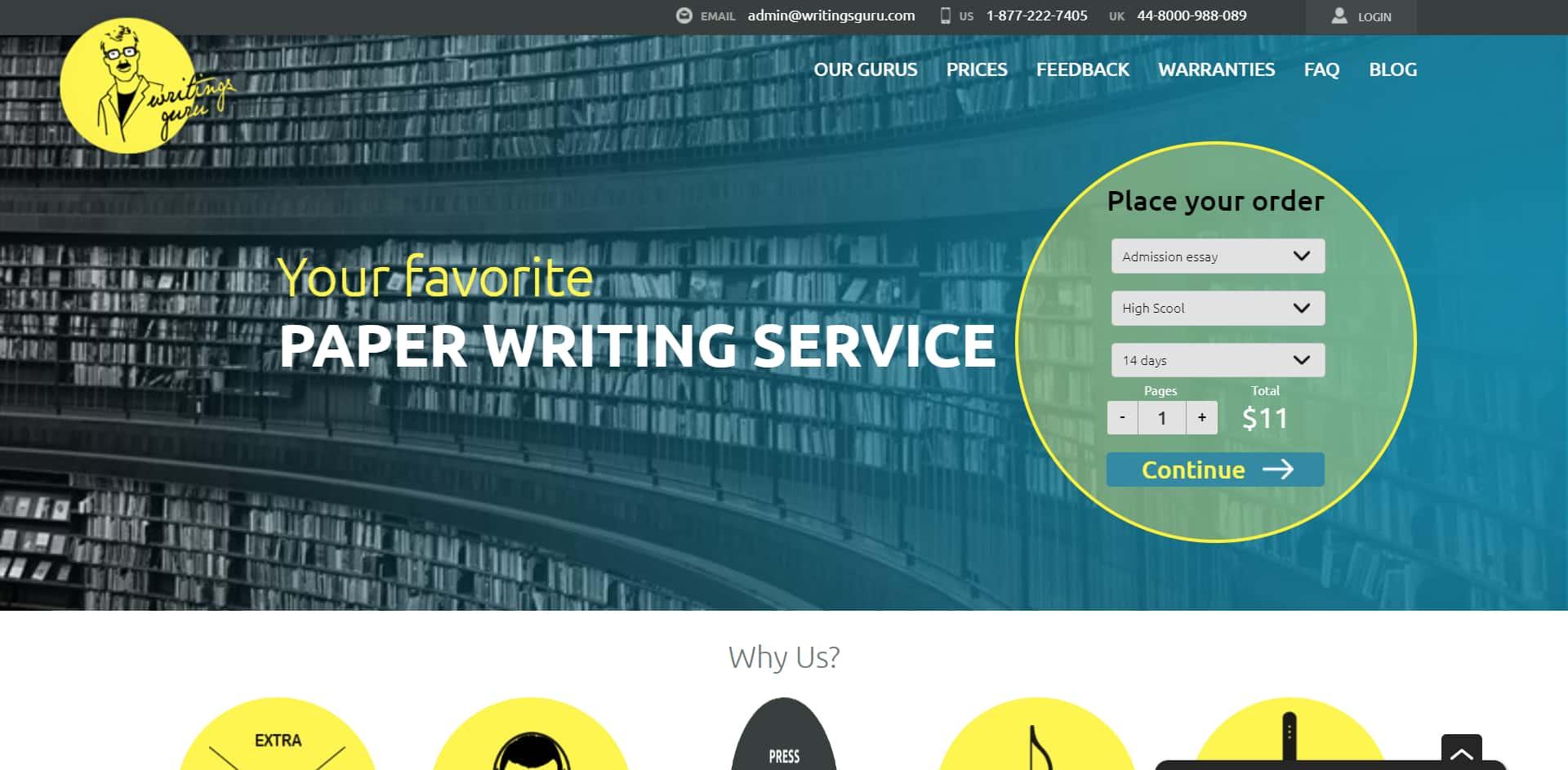 WritingsGuru Review