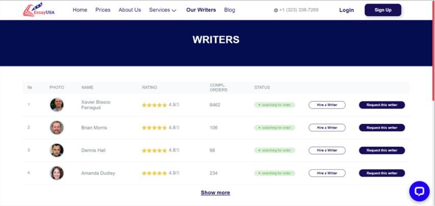 writers on essayusa.com