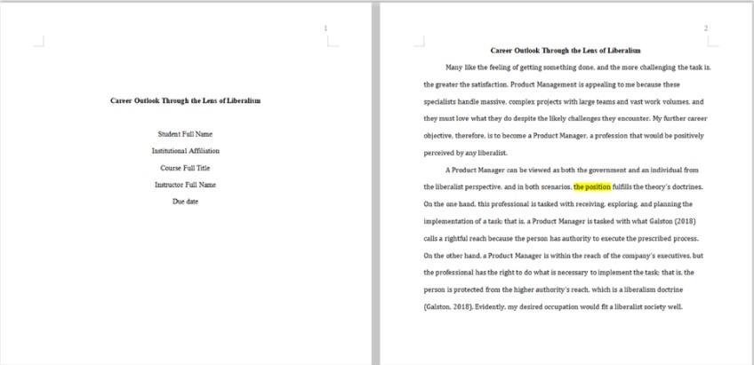 handmadewriting assignment