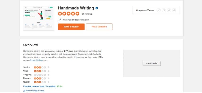 handmadewriting social media