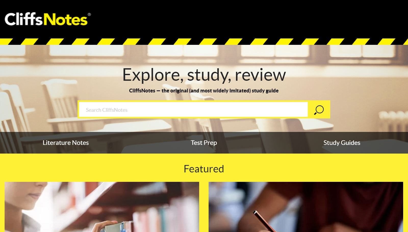 cliffsnotes review