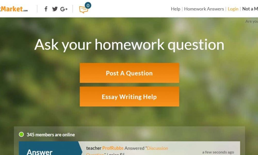 HomeworkMarket Review 2020: Is it Worth Your Attention?