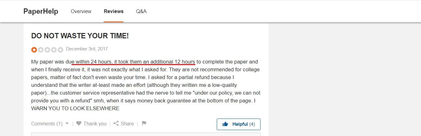 paperhelp reviews