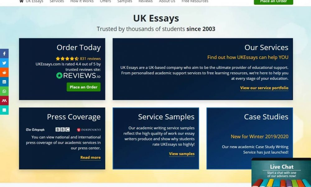 Ukessays.com Review 2020: What To Expect From This Service?