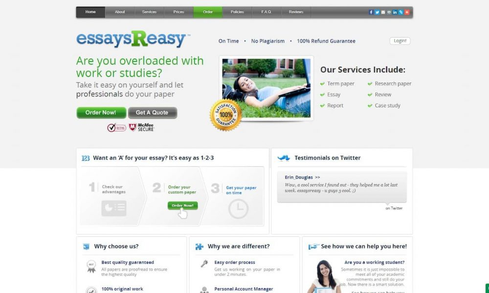Essaysreasy Review 2020: Is This Writing Service Worth Your Money?