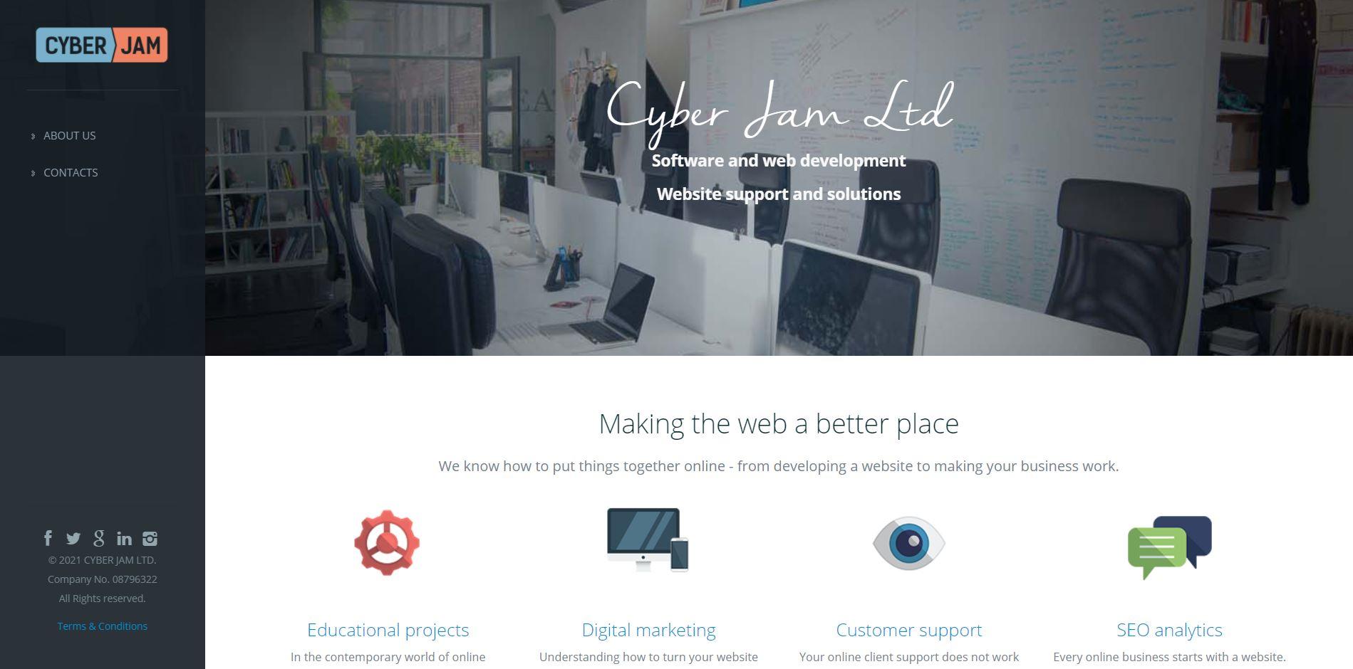 Cyber Jam Ltd. – Company Overview