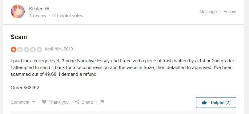 WriteMyPapers.Org Reviews