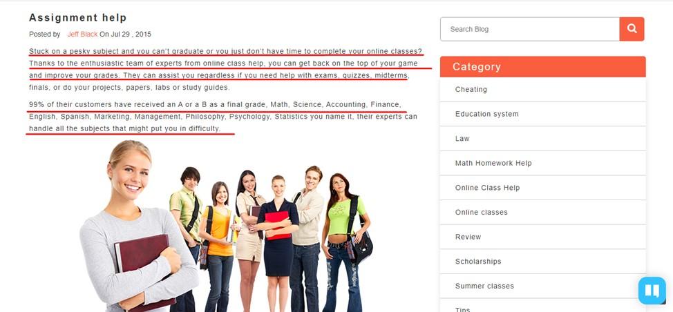 OnlineClassHelp